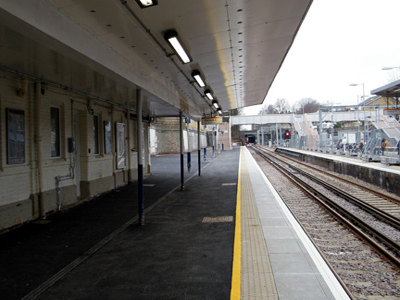 Highbury Islington Rail Station